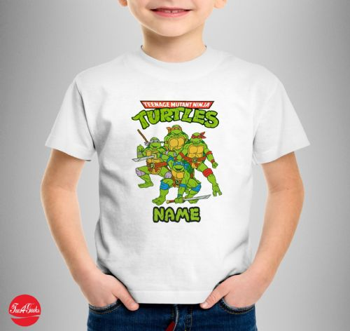 Personalised Turtles T-shirt